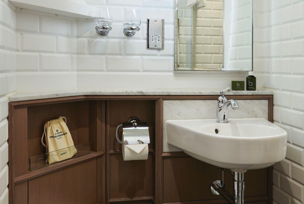 Private ensuite toilet - Belmond Grand Hibernian