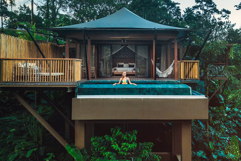 Private pool, Nayara Tented Camp, Costa Rica