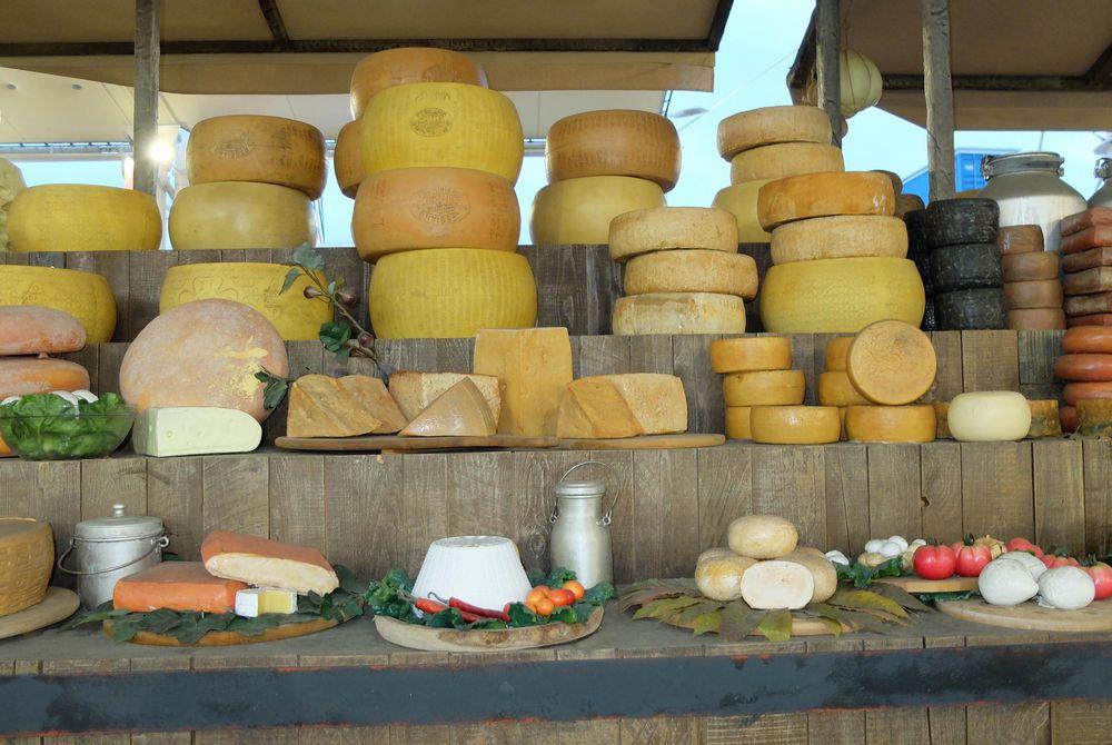 Puglia cheeses
