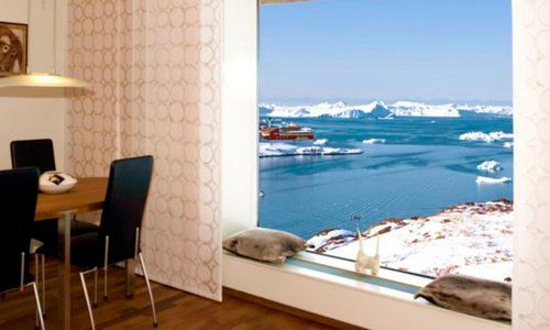 Puisi Suite, Hotel Arctic, Ilulissat, Greenland