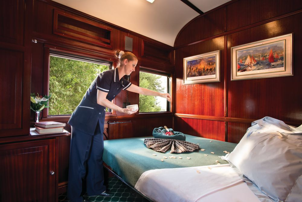 Pullman Suite, Rovos Rail, South Africa