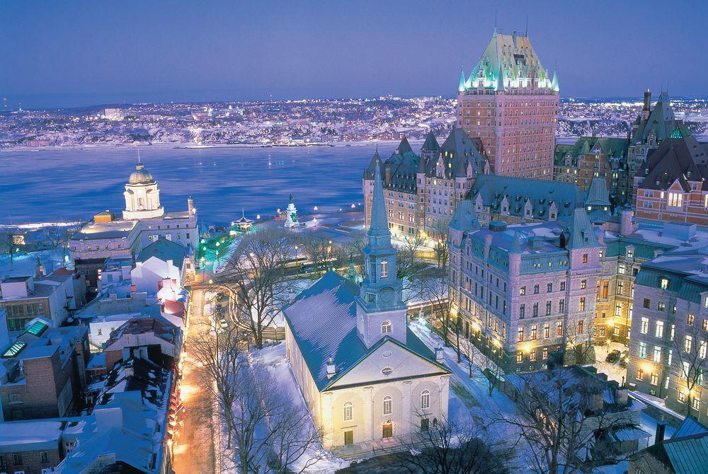 Québec City, Montréal