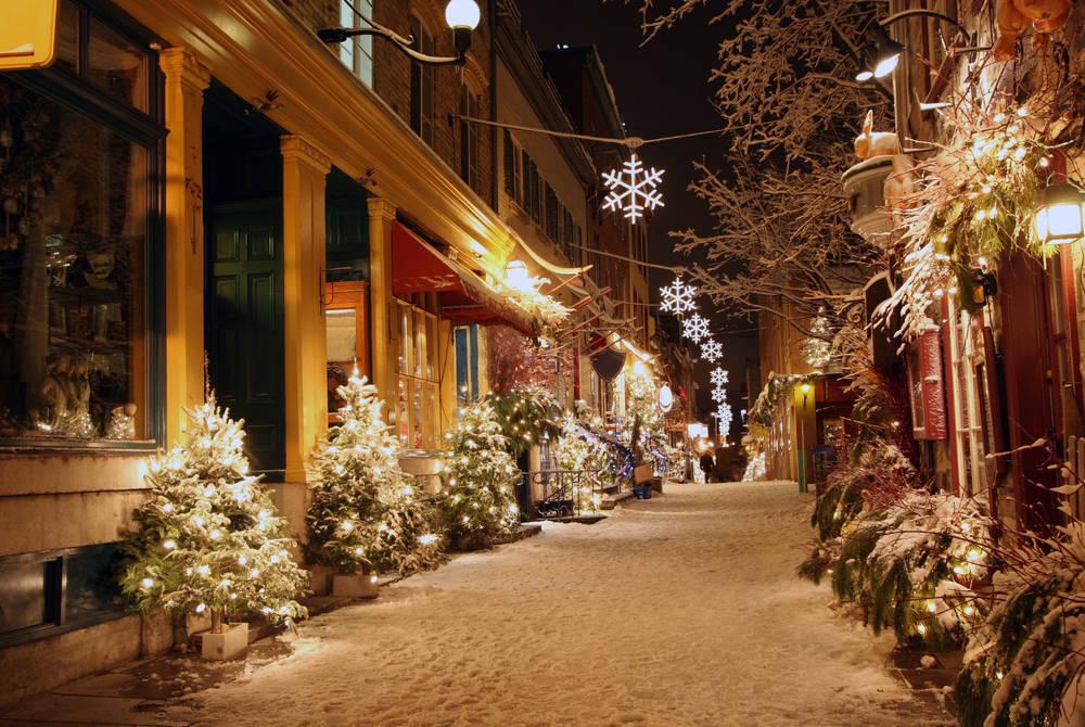Winter in Québec City