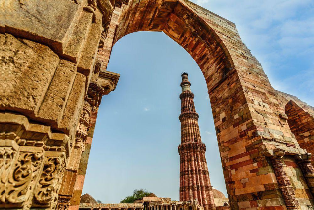 Qutub Minar Tower, Delhi