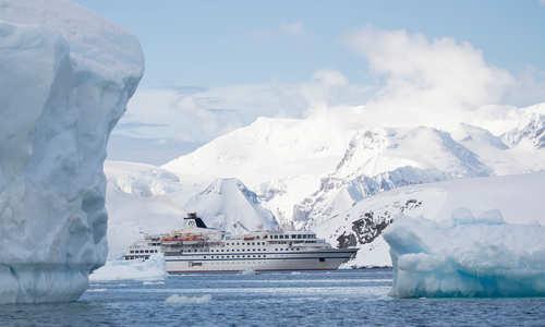 RCGS Resolute, Antarctica