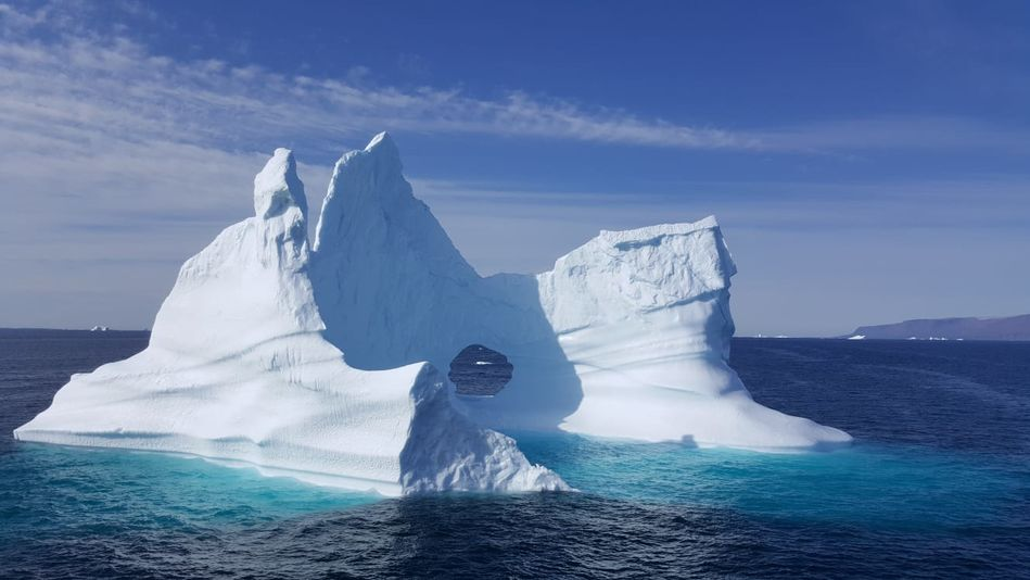 Iceberg, RCGS Resolute, One Ocean Expeditions