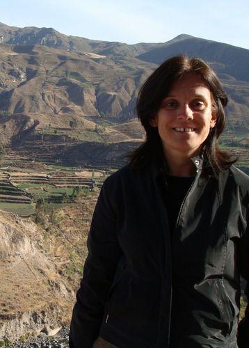 Rachel Mostyn in Colca Canyon, Peru