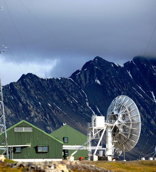 Isfjord Radio, Spitsbergen