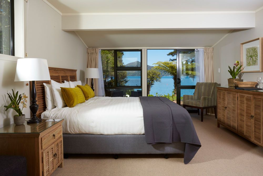 Raetihi Lodge room with sea view, New Zealand