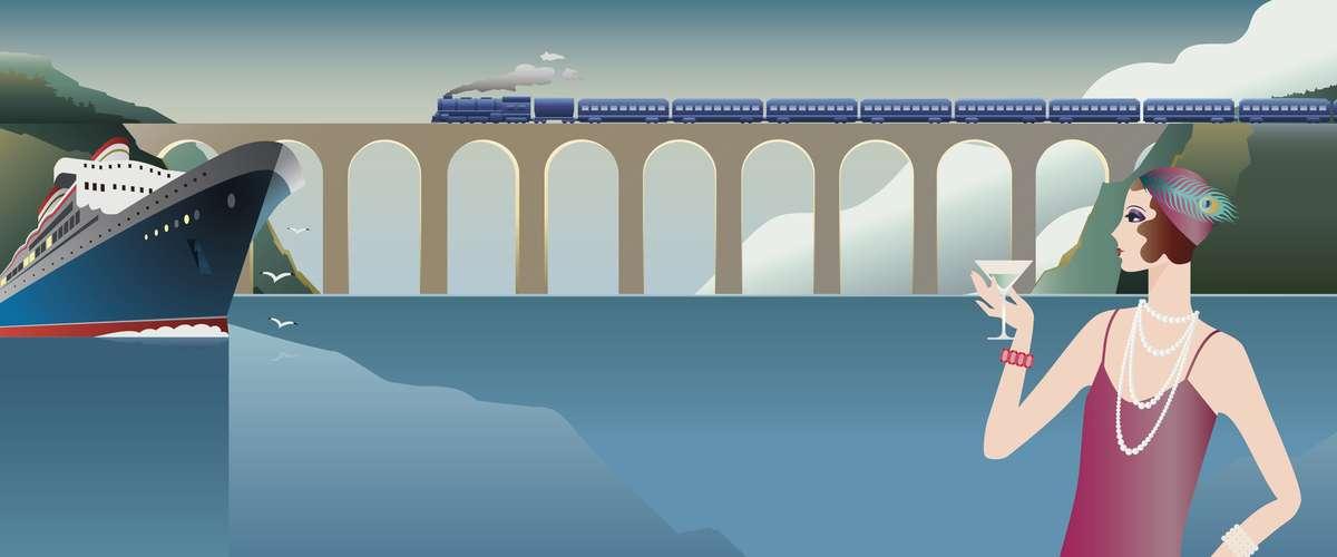 Rail and cruise