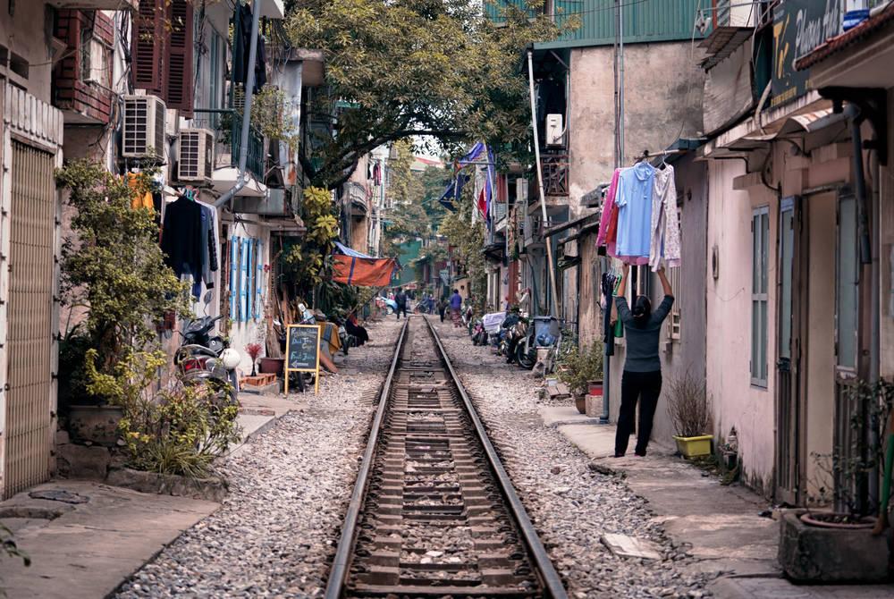 Railway, Hanoi