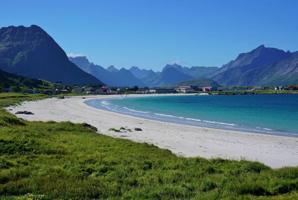 Ramberg beach, Lofoten Islands