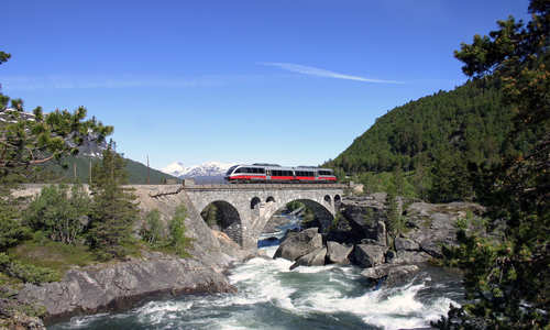 Norway's Fjords & Cities by Rail