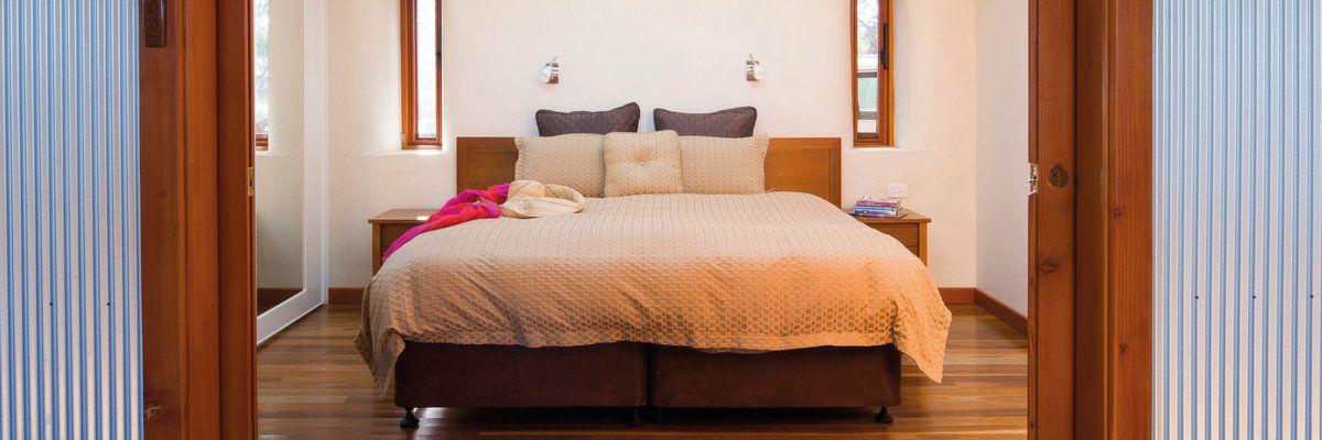 Rawnsley Eco Villas bedroom