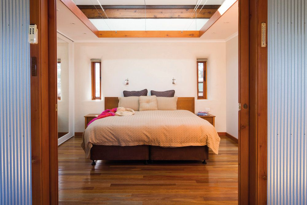 Rawnsley Eco Villas bedroom