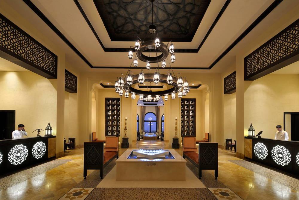 Reception, Anantara Qasr Al Sarab