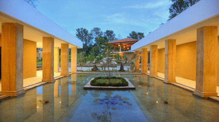Reception Area, Kasara Resort, Chitwan National Park