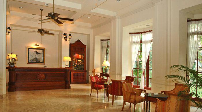 Reception, Settha Palace, Vientiane