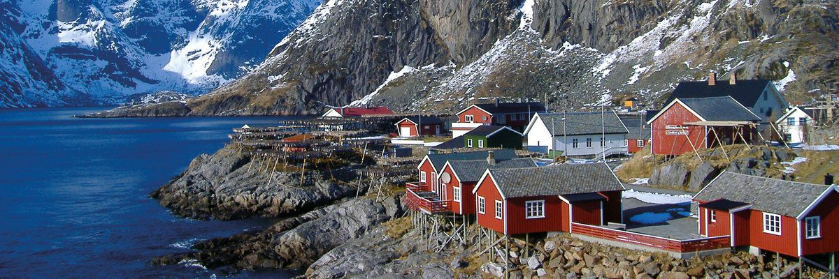Red Houses, Lofoten Islands, Norway