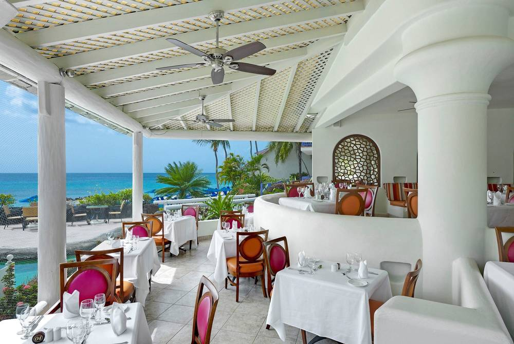 Reflections restaurant, Crystal Cove, Barbados