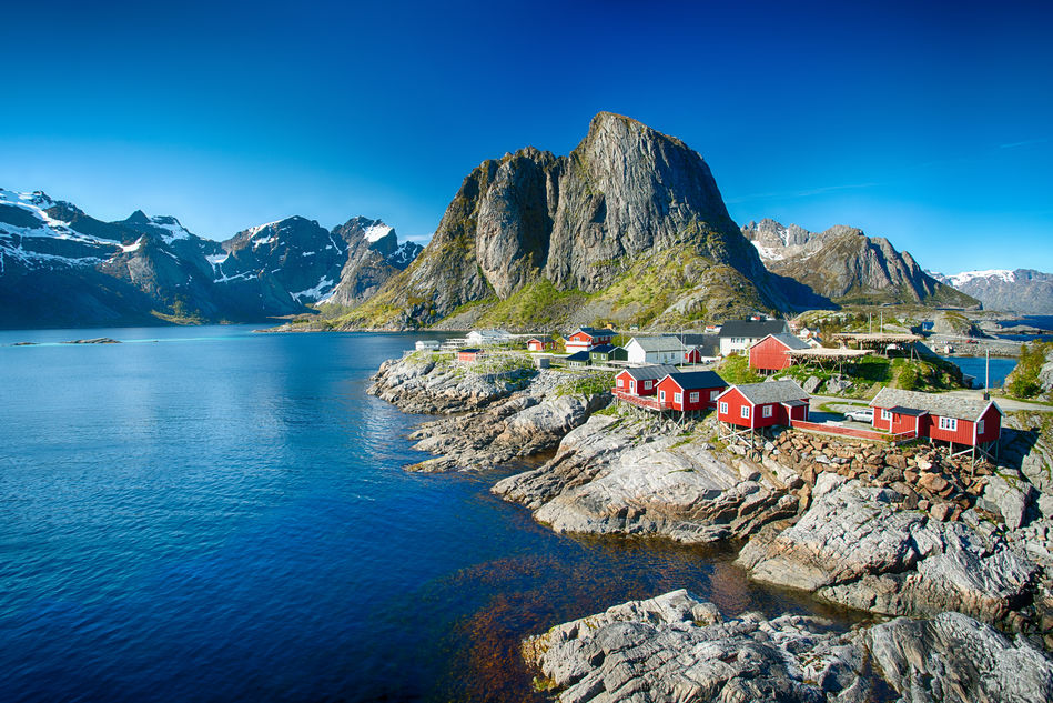 Reine village, the Lofoten Islands