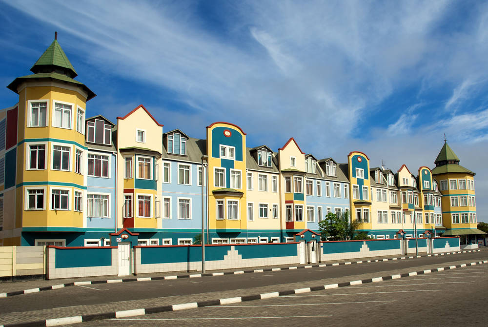 Residential housing in Swakopmund
