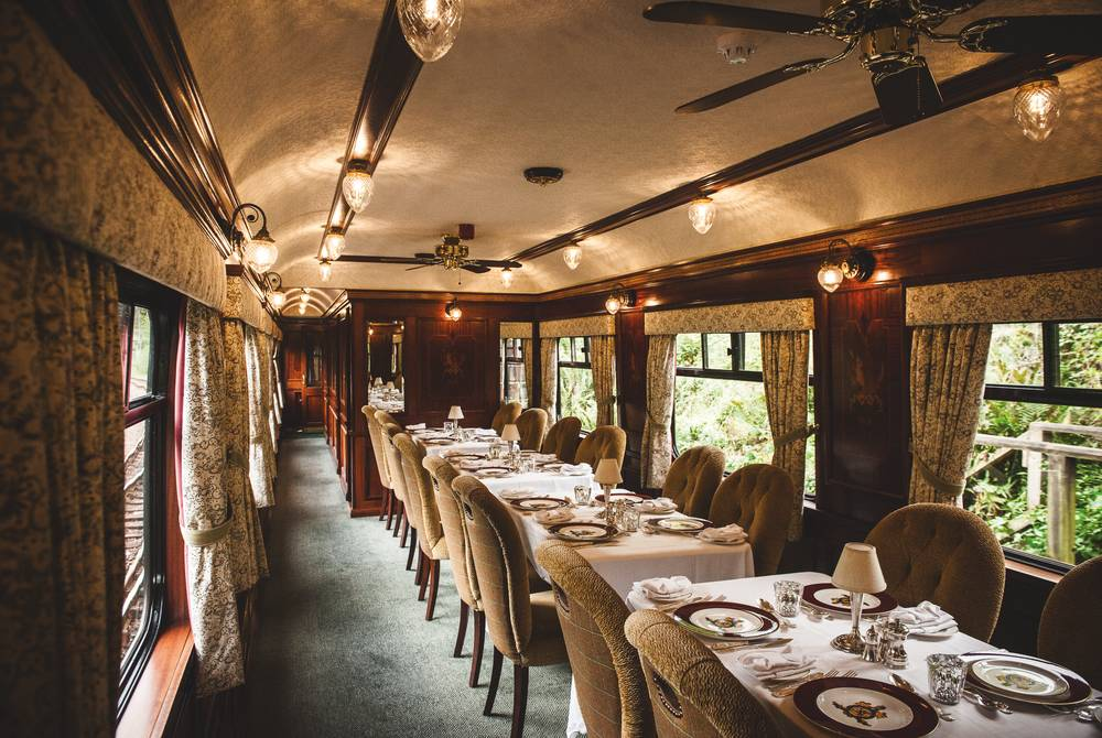 Restaurant car, Belmond Royal Scotsman