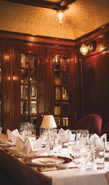 Restaurant, Belmond Royal Scotsman