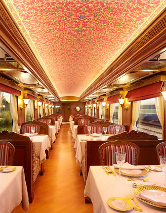 Restaurant Car, Maharajas' Express