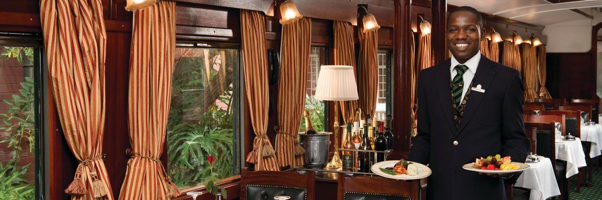 Restaurant Car, Rovos Rail