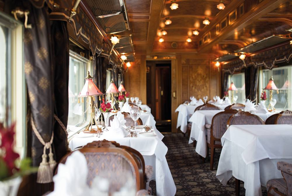 Restaurant car, Eastern & Oriental Express