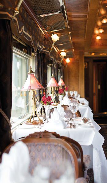 Restaurant Car, Eastern & Oriental Express