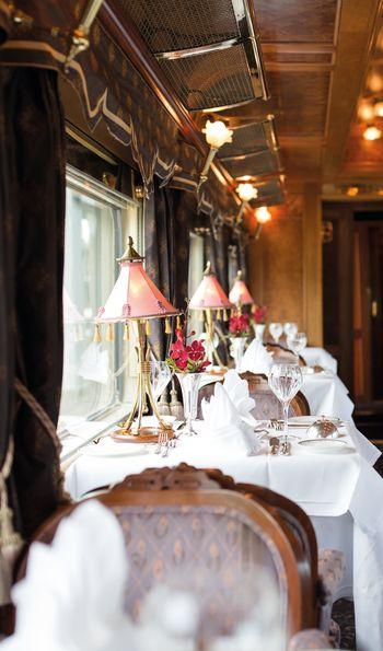 Restaurant, Eastern & Oriental Express