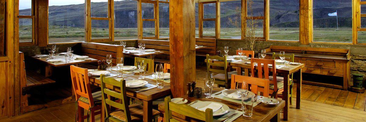 Restaurant, Estancia Cristina, Calafate