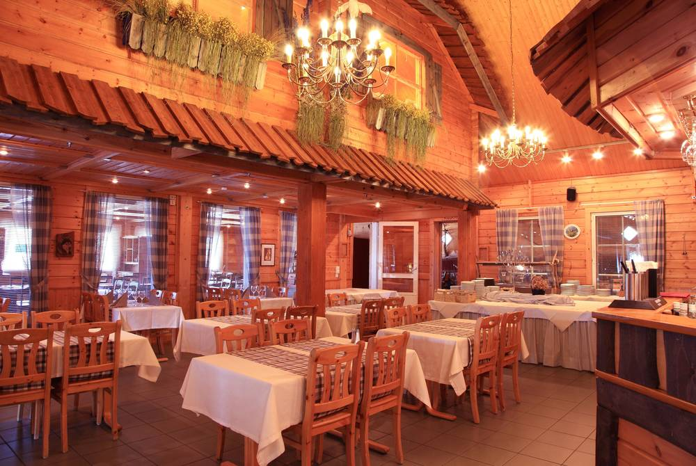 Restaurant, Hotel Harriniva