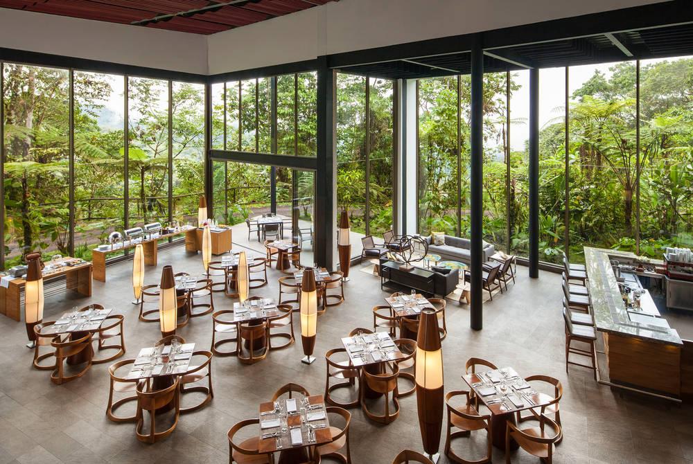 Restaurant, Mashpi Lodge, Ecuador