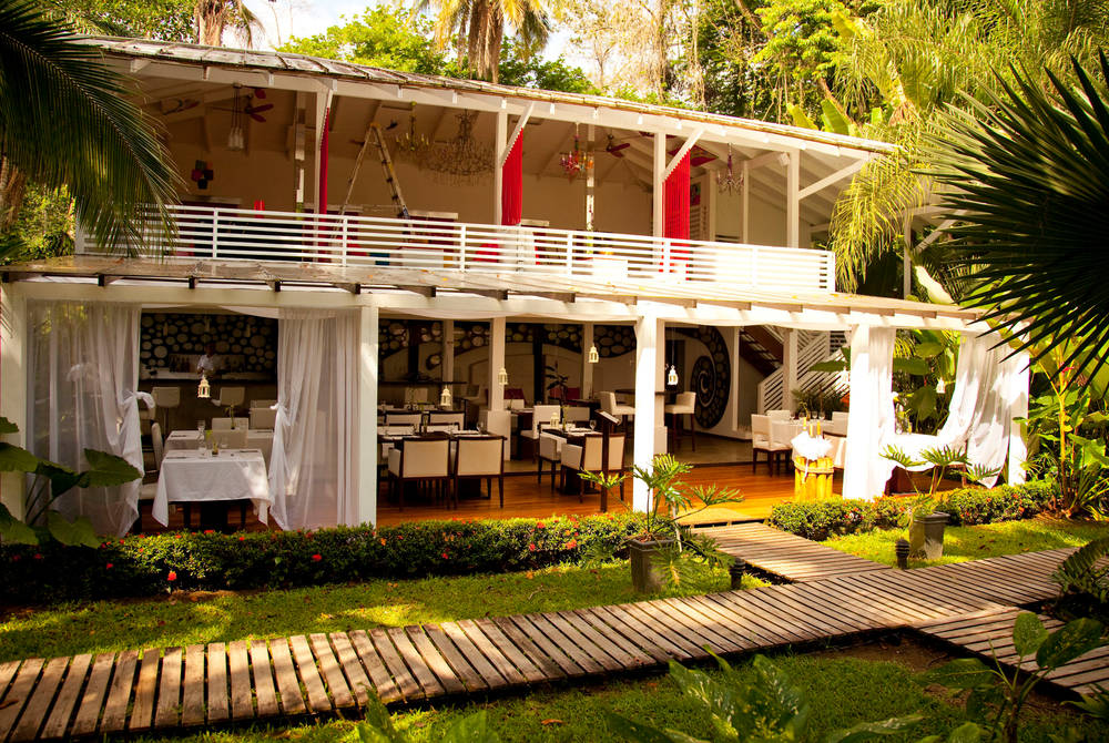 Restaurant Ocho & Medio, Le Caméléon, Costa Rica