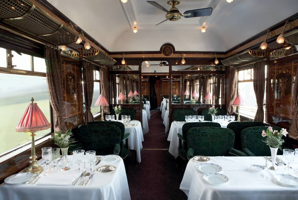 Restaurant car, Venice Simplon-Orient Express