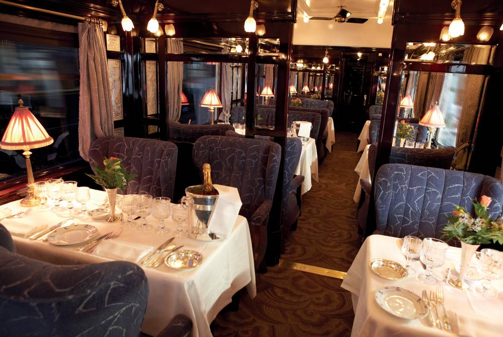 Restaurant Car, Venice Simplon-Orient-Express