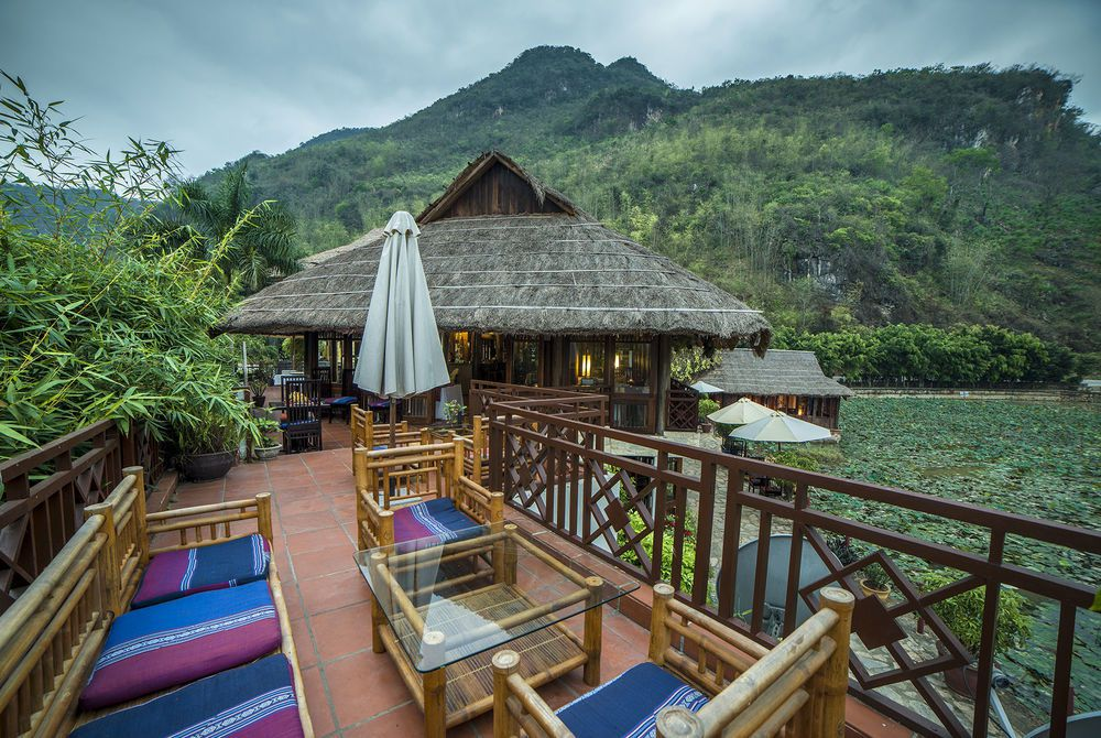 Restaurant View, Mai Chau Lodge