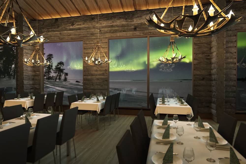 Restaurant, Wilderness Hotel Inari