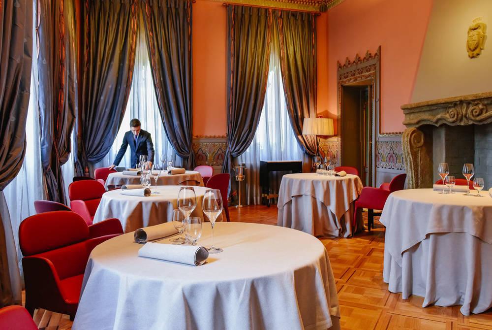 Restaurant, Villa Crespi