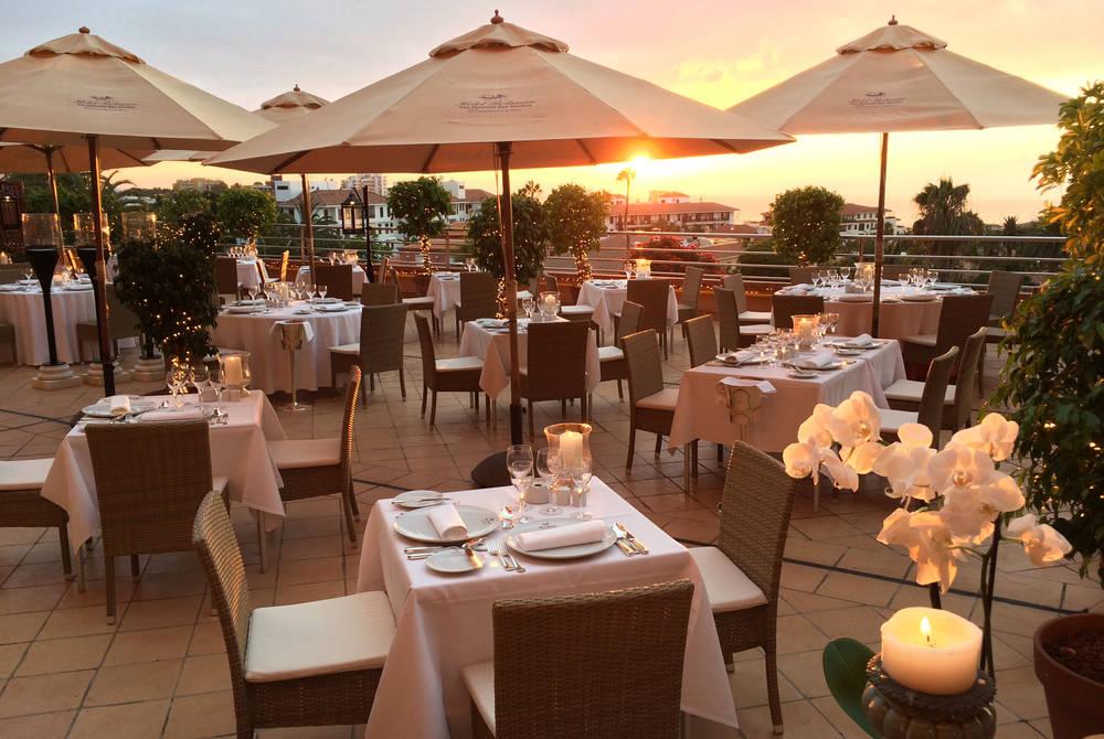 Restaurante Il Pappagallo terraza, Hotel Botanico
