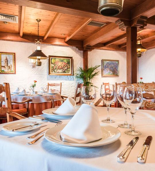 Restaurante La Parrilla, Hotel Botanico