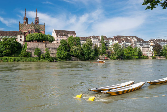 View of Basel from the Rhine