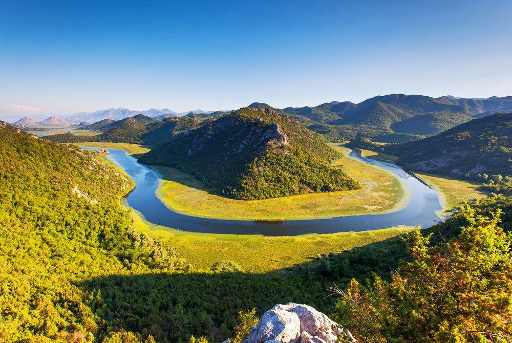 Rijeka Crnojevica, near Skadar lake, Montenegro