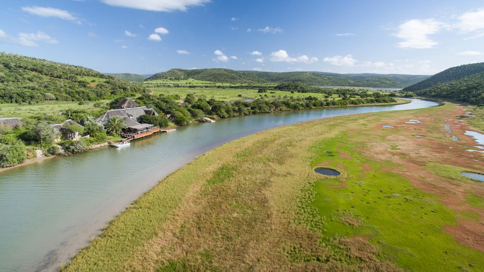 River Lodge of Kariega Game Reserve in South Africa's Eastern Cape