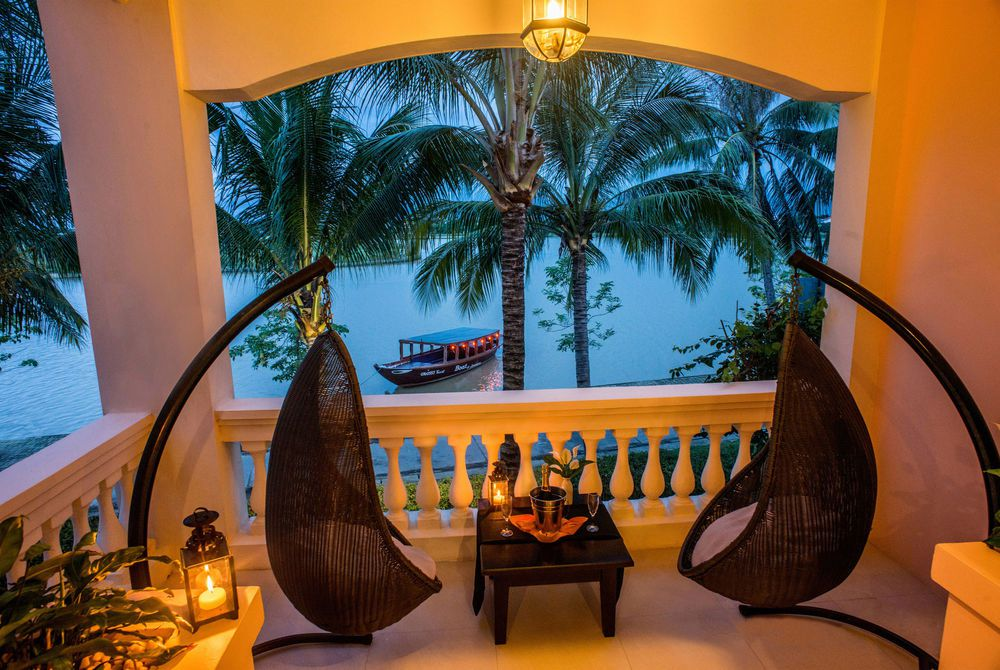 River View Suite Balcony, Anantara Hoi An