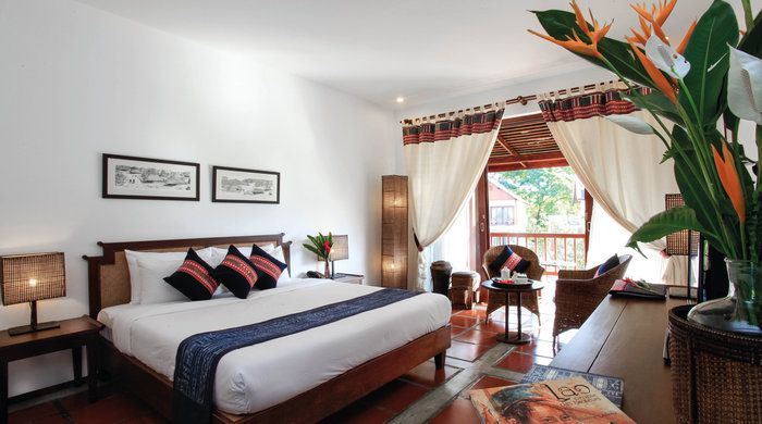 Deluxe Room, Riverside Boutique Resort, Vang Vieng