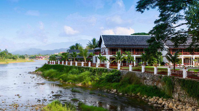 Exterior, Riverside Boutique Resort, Vang Vieng
